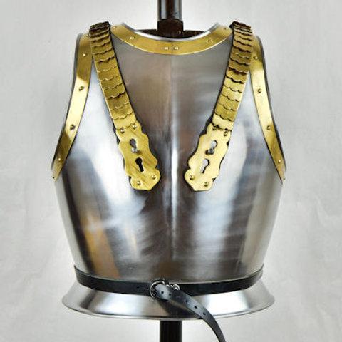 Napoleonic Steel Cuirass - 18 Gauge Steel - LB25180
