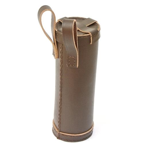Leather Bottle Holder - Dark Brown - SNLA6531BR