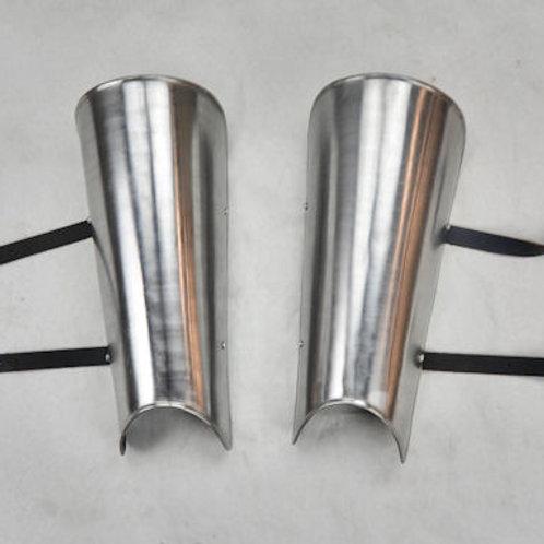 Simple Steel Greaves