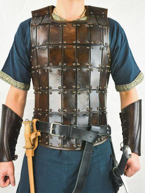 AH6522 Leather Brigandine