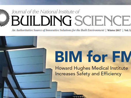 BIM for FM Article by HHMI in NIBS Journal