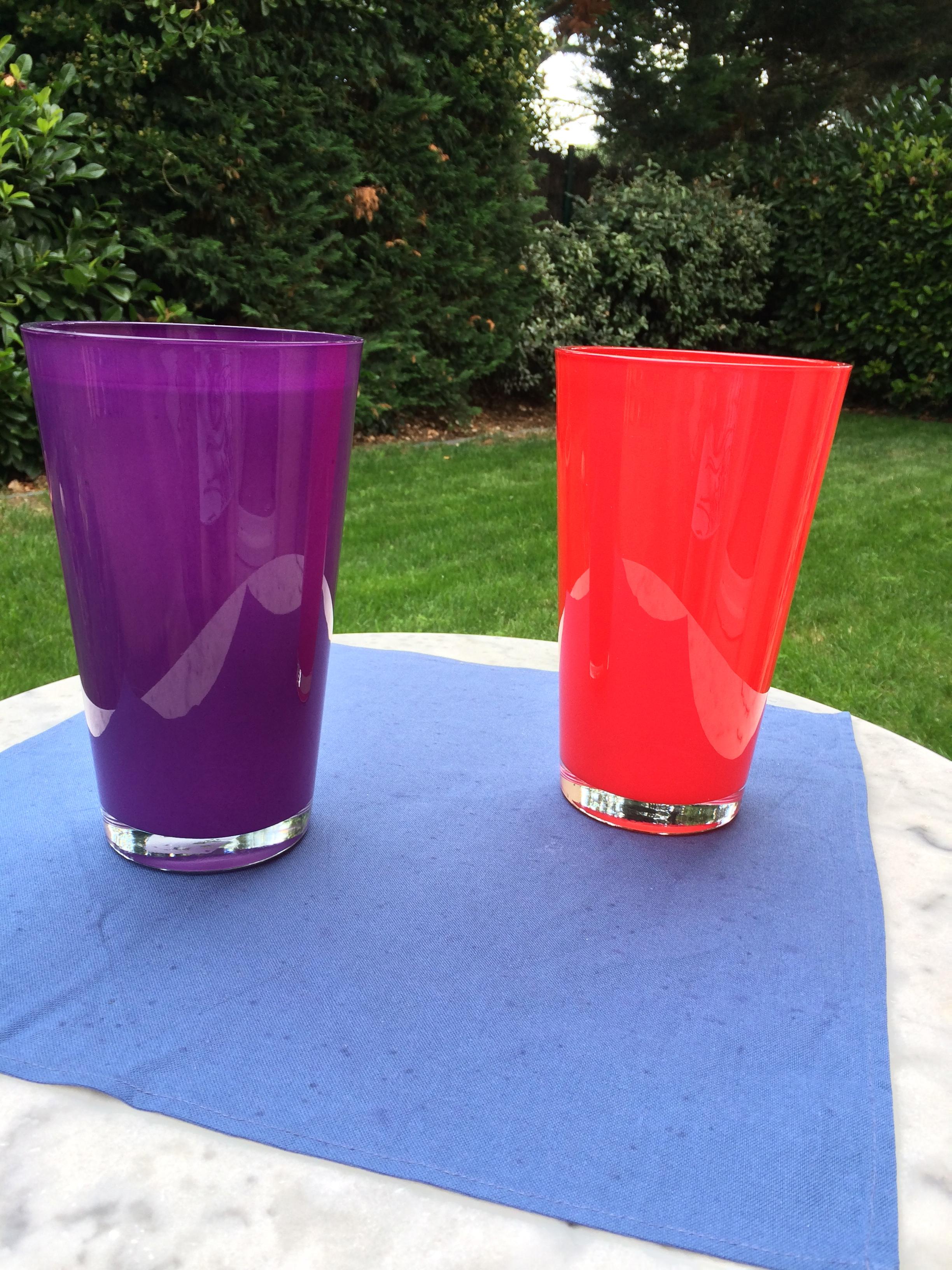 2 grands vases