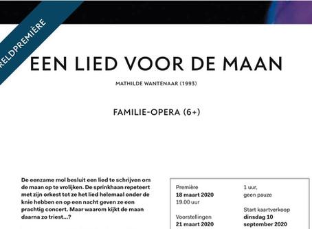 Nieuwe opera: Een lied voor de maan