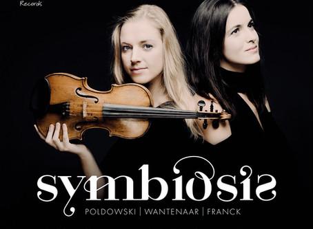 Debut CD Symbiosis by Merel Vercammen and Dina Ivanova