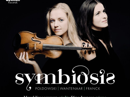 Debut CD Symbiosis by Merel Vercammen and Dina Ivanova