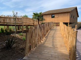 Lodge Zoo de la Boissière du Doré