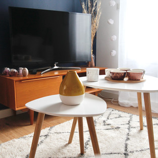 Tables basses gigognes styles scandinave