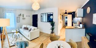 Décoration et rénovation d'un appartement à Nantes