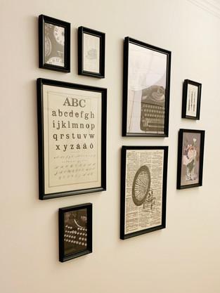 Décoration d'un mur photo