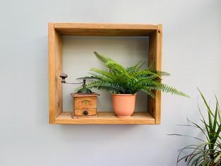 Décoration étagère en bois