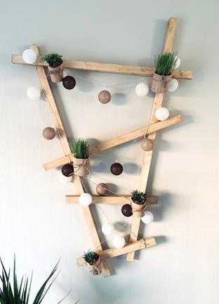 Structure végétale et lumineuse