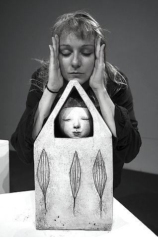 arte daria palotti vicopisano pisa italia scultura pittura terracotta ceramica artista