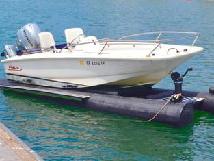 Carafino Dry Hull Boat Floats