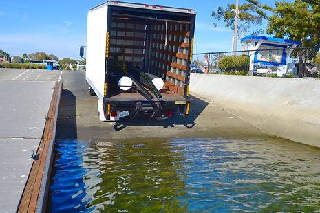 Floating Dock Delivery Marina Del Rey