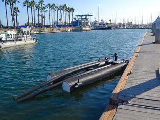 Carafino Spark Jet Ski Floating Dock, Marina Del Rey