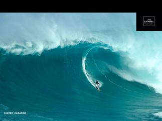Large Wave Chanel Mango
