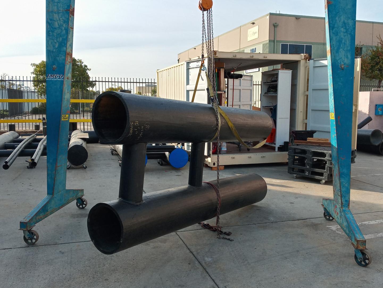 Ultra Dock Dry Hull Fabrication, Carafino