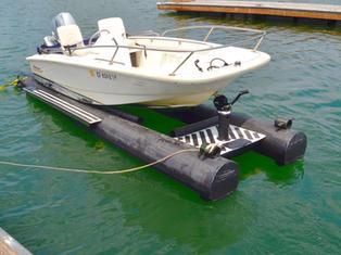 Carafion Dry Hull Boat Floats