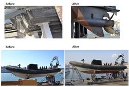 Oman Coast Guard and Polie Marine Growth Solution 3