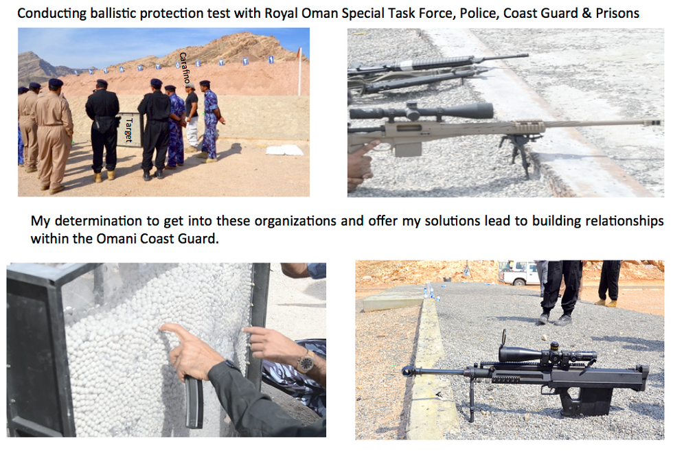 Omani Police, Coast Guard, Special Task Force, Prison