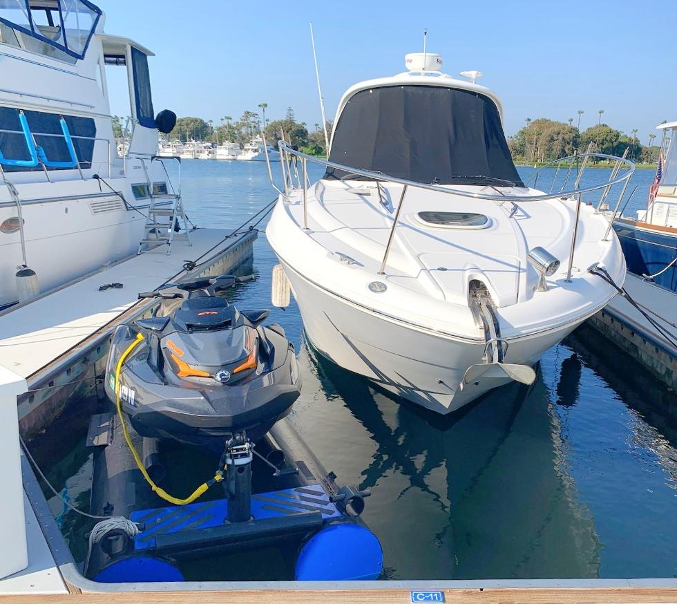 California Boat Floats