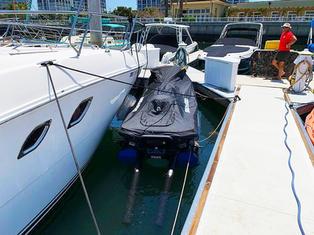 Carafino Dry Hull Jet Ski Dock. Coronado Island California.