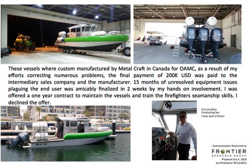 Oman Airport Management Crash Rescue Vessels Carafino 2