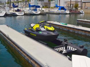 Carafion Dry Hull Drive On Jet Ski Float