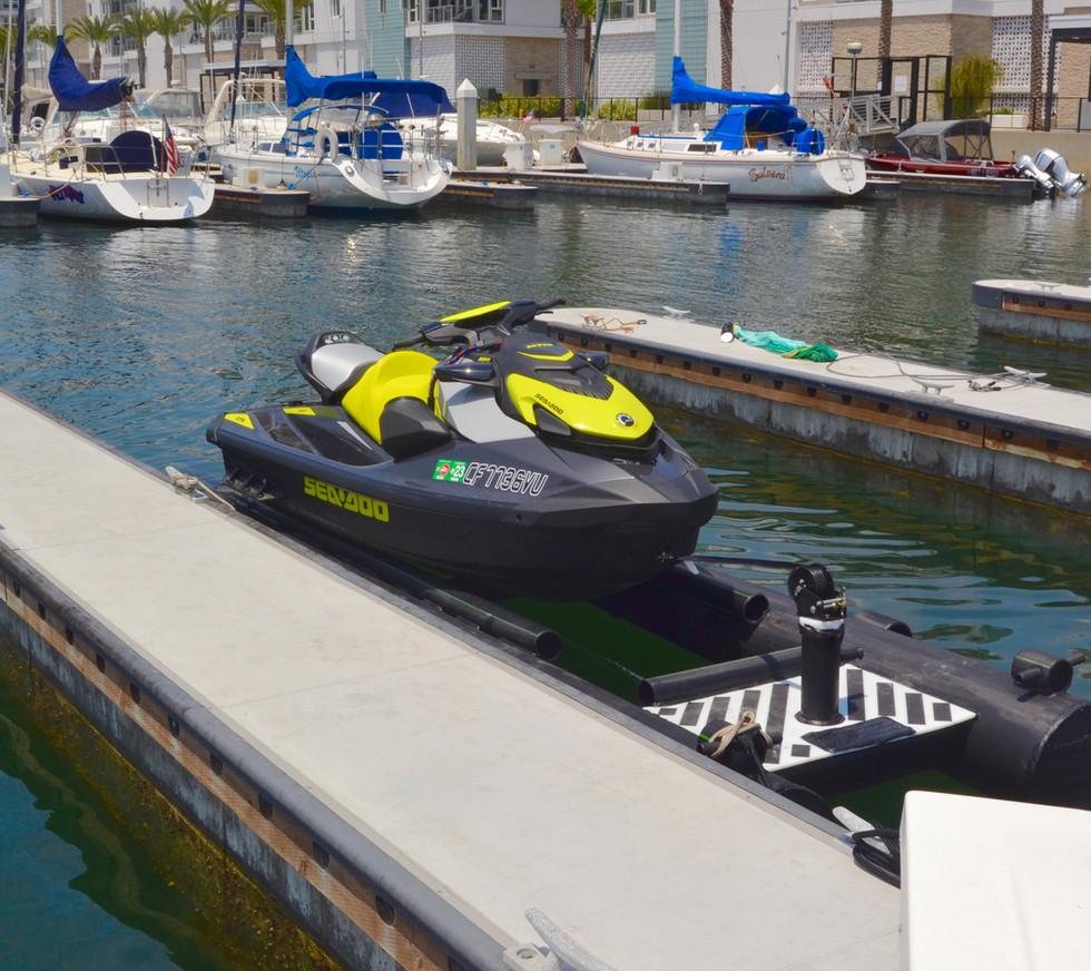 Carafino Dry Hull Jet ski Dock 2021