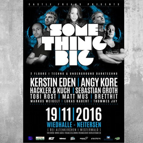 Poster Something Big 2016 DIN A1