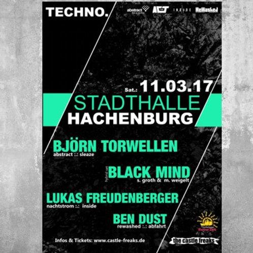 Poster TECHNO. 2017 - DIN A1