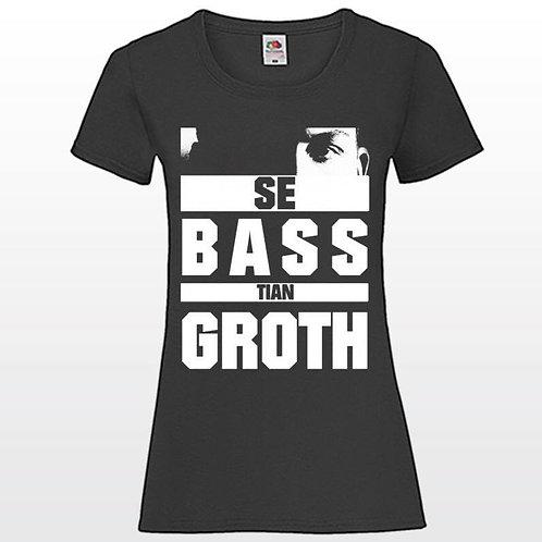 """T-Shirt """"Se BASS tian GROTH""""GIRLS"""