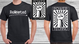 PowerTechno Shirts Back in Stock