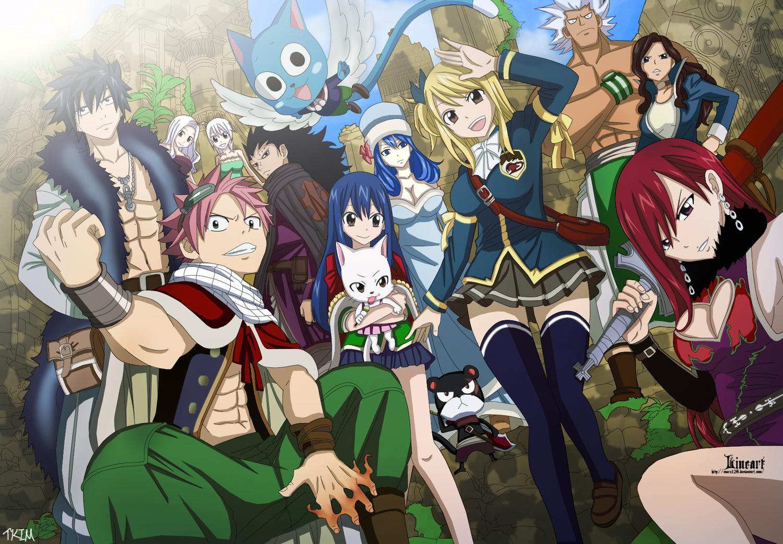 Fairy Tail Volta Em Abril!!