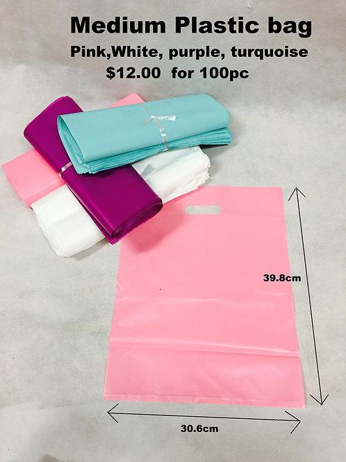 Medium Plastic bags  $0.12 each 100/pack