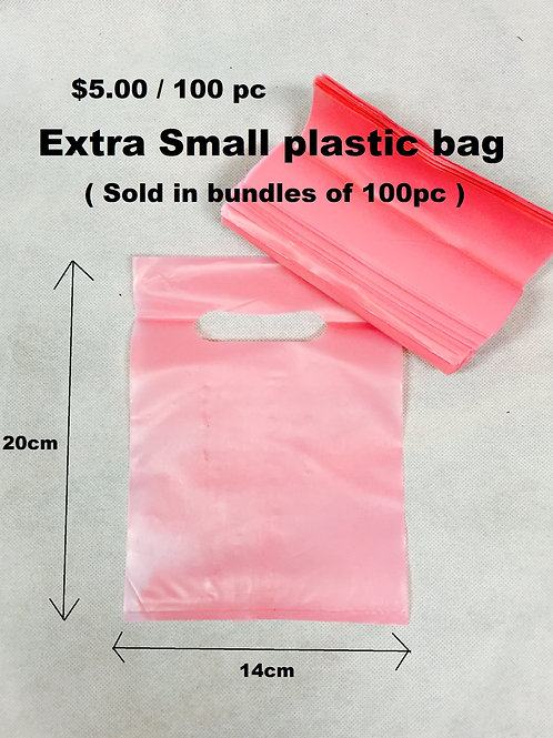 Extra Small Plastic bags  $0.50 each 100/pack