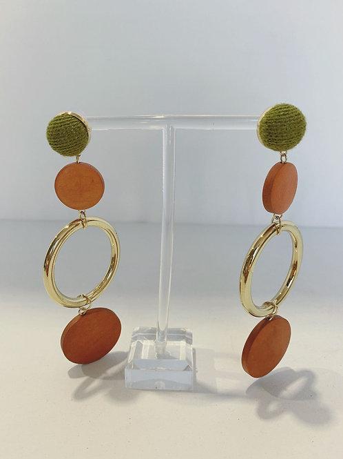 0031-4 Earrings $5.50 A Pair