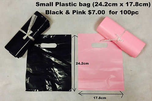 Small Plastic bags   $0.70 each 100/pack