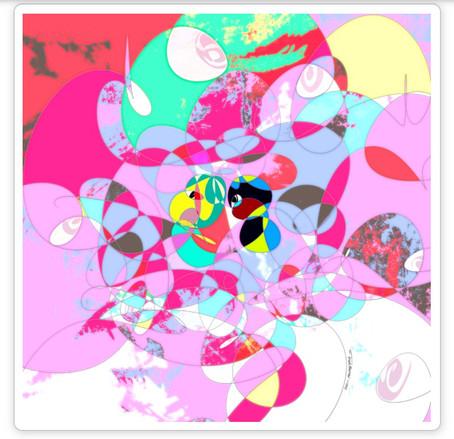nanakusaの第2期公認アーティストに選ばれました。NFT作品を2点発表🍃