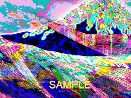 日本発NFTプロジェクト 36FUJIにてTAKUROMANの絵が発表されました🗻✨