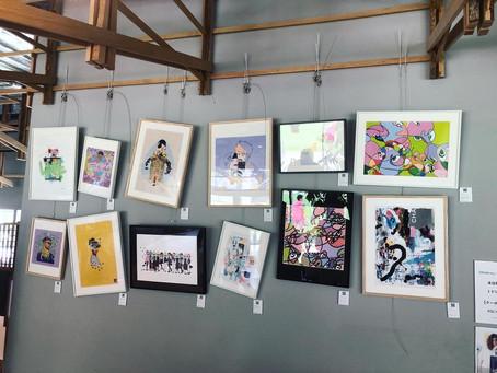 Fancy Art ポップアップイベントにてTAKUROMAN作品が展示されました。