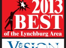 "We won ""Best in Marketing!"" Thanks Lynchburg!"