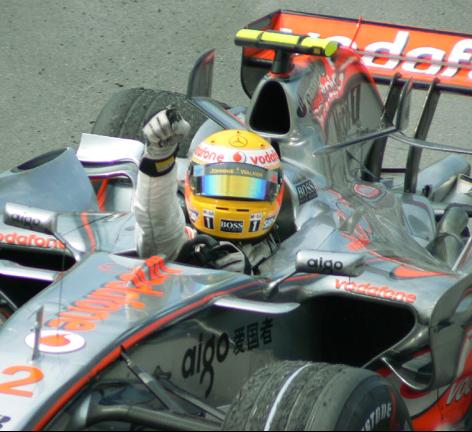 Lewis Hamilton's 1st win