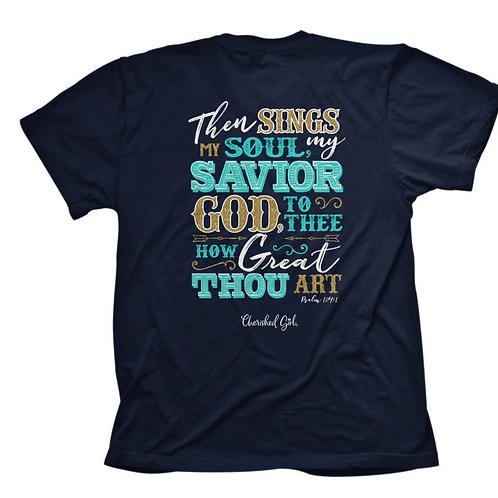 How Great Thou Art Adult Shirt