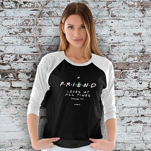 Friend Raglan T-Shirt