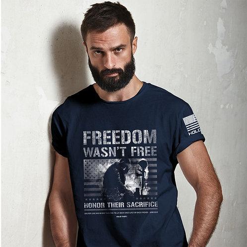 Freedom Wasn't Free Adult T-Shirt