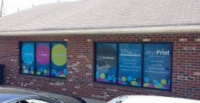 Stand out from the competition with window signage!
