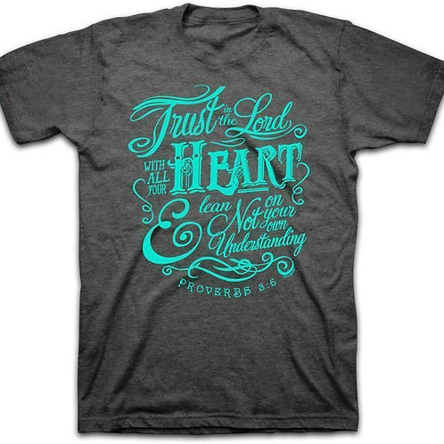 Trust In The Lord Adult T-Shirt