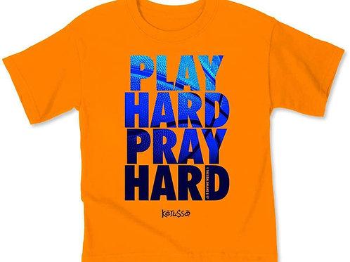 Play Hard Pray Hard YOUTH T-Shirt