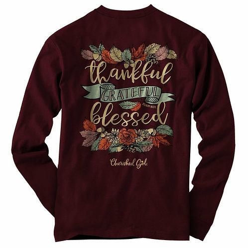 Thankful Adult Long Sleeve T-Shirt